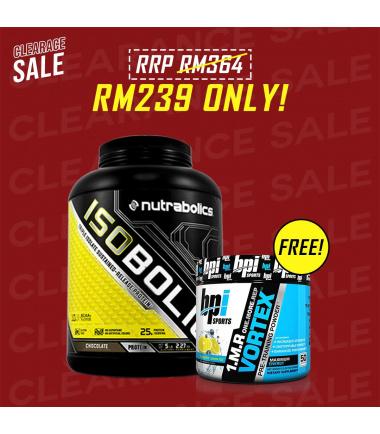 Isobolic (5 lbs.) *FREE* 1.M.R Vortex