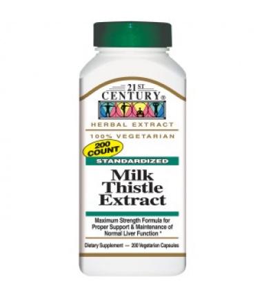 Milk Thistle Extract (200 Veggies Caps)