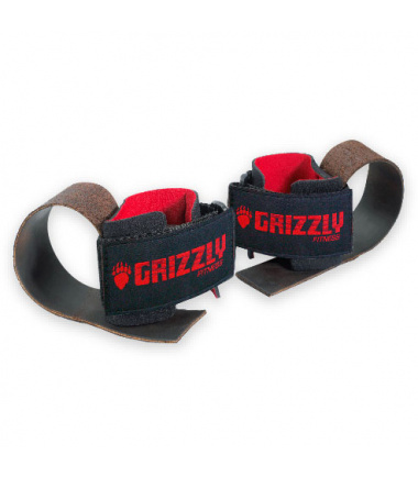 Deluxe Leather Lifting Straps (1 pair)