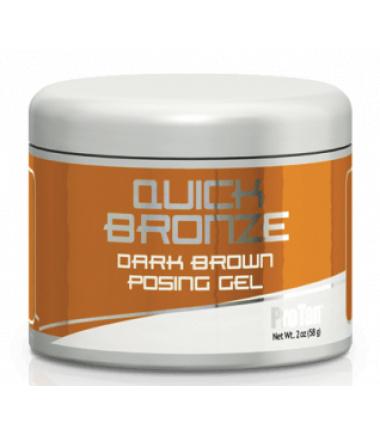 Quick Bronze Dark Brown Posing Gel (2 fl. oz.)