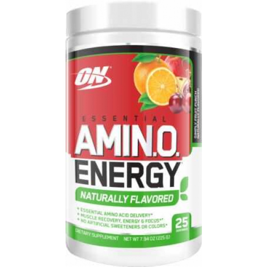 Amin.o Energy Naturally Flavoured (25 servings)