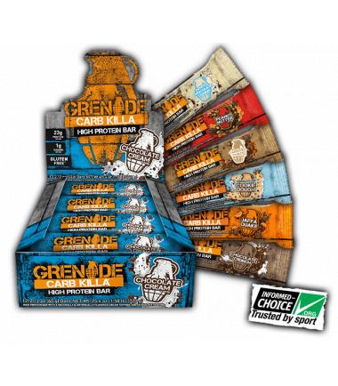 Grenade Carb Killa (12 bars)