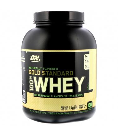 Gold Standard 100% Whey GLUTEN FREE (4.8 lbs.)