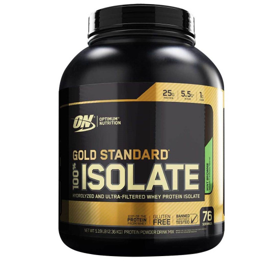 Gold Standard 100% Whey Isolate (5 lbs.)