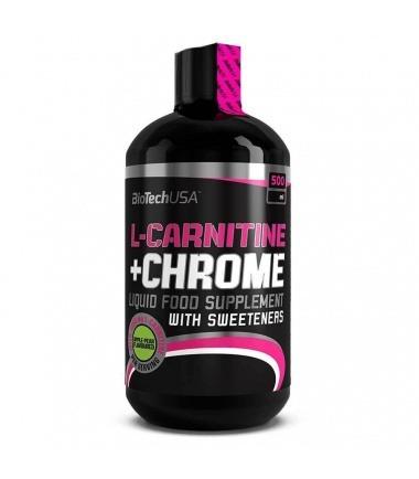 Liquid L-Carnitine + Chrome (500 ml)