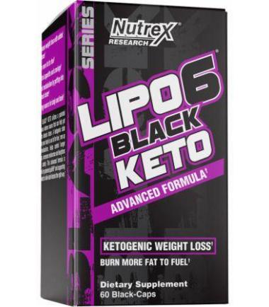 Lipo-6 Black Keto (60 caps)