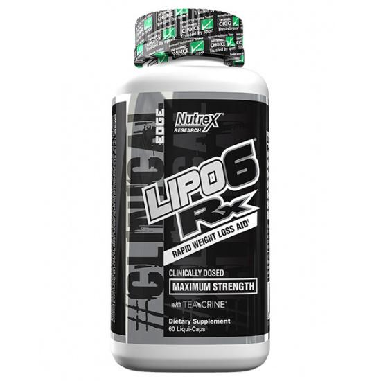 Lipo 6 RX (60 Liquid Capsules)