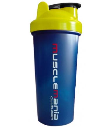 MuscleManiaClub.com Blue Shaker Cup (25 oz)