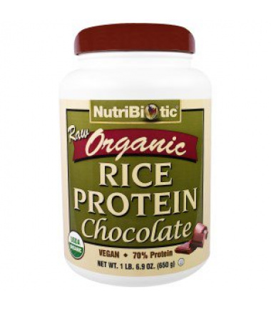 Organic Raw Rice Protein (650 g)