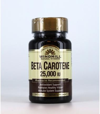Beta Carotene (100 softgels)