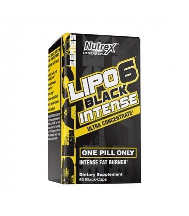 Lipo 6 Black Intense Ultra Concentrate (60 capsules)