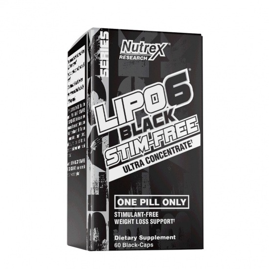Lipo 6 Black Stim-Free (60 capsules)