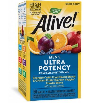 Alive! Men's Ultra Potency (60's)