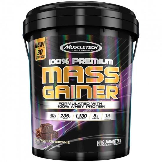 100% Premium Mass Gainer (18 lbs)